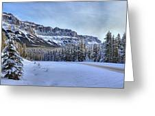 Bow Valley Castle Cliffs Greeting Card