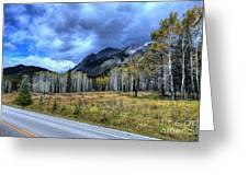 Bow Valley Parkway Banff National Park Alberta Canada Greeting Card