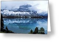 Bow Valley Storm Greeting Card