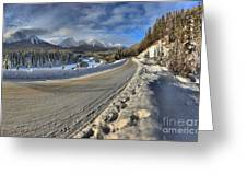 Bow Valley Winter Wonderland Greeting Card