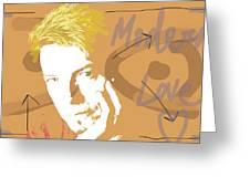 Bowie Modern Love  Greeting Card