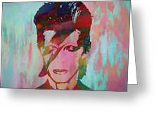 Bowie Reflection Greeting Card
