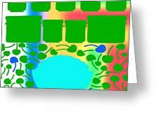 Bowl Of Cherries 3 Greeting Card