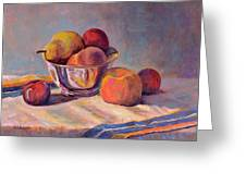 Bowl With Fruit Greeting Card