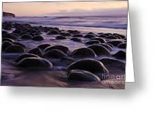 Bowling Ball Beach California 2 Greeting Card