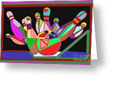 Bowling Sports Fans Decoration Acrylic Fineart By Navinjoshi At Fineartamerica.com  Down Load  Jpg F Greeting Card