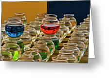 Bowls Full Of Color Greeting Card