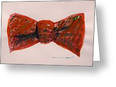 Bowtie 1 Greeting Card by John  Williams