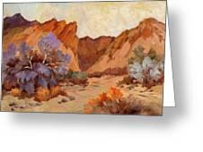 Box Canyon Greeting Card