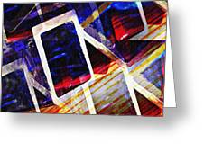 Boxes Greeting Card