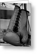 Boxing Glove Greeting Card by Robert Ullmann
