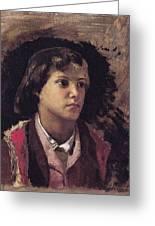 Boy Sabine Hills Henryk Semiradsky Greeting Card