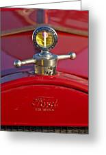 Boyce Motometer Hood Ornament Greeting Card
