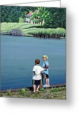 Boys Of Summer Greeting Card