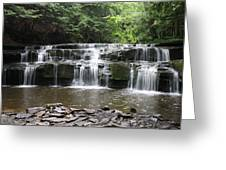 Bozeman Falls Greeting Card