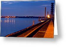 Bradenton Railway Bridge Greeting Card