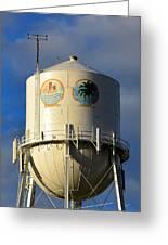 Bradenton Water Tower  Greeting Card