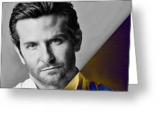 Bradley Cooper Collection Greeting Card