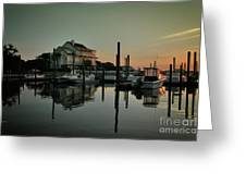 Bradley Creek At Dawn Greeting Card