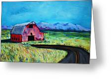 Bradley's Barn Greeting Card