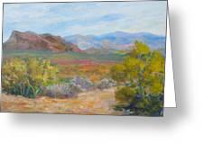 Bradshaws, West Of Phoenix Greeting Card