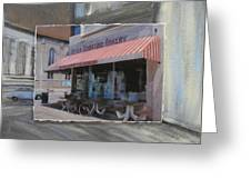 Brady Street - Peter Scortino Bakery Layered Greeting Card