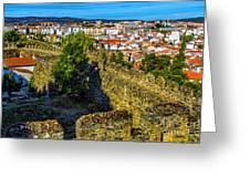 Braganca Citadel Greeting Card