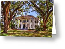 Bragg Mitchell House In Mobile Alabama Greeting Card
