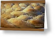 Braided Bread Greeting Card