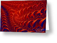 Braided Red Greeting Card