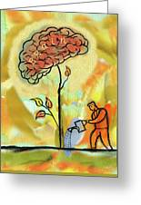 Brain Care Greeting Card