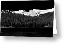 Brainard Lake - Indian Peaks Greeting Card