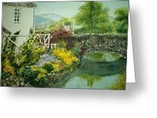 Braithwaite Bridge Greeting Card