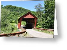 Braley Covered Bridge Greeting Card
