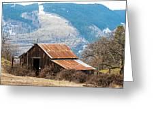 Bramble Bound Barn Greeting Card
