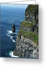 Brananmore Cliffs Of Moher Ireland Greeting Card
