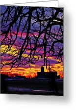 Branched Barn Greeting Card