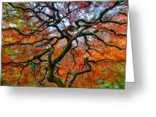 Branching Out In Autumn Greeting Card