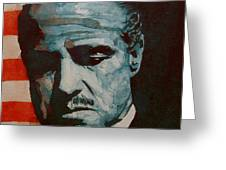 The Godfather-brando Greeting Card