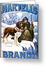 Brandy Advertisement, 1910 Greeting Card