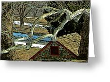 Brandywine Springhouse Greeting Card