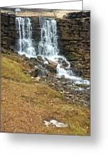 Branson Waterfall 4 Greeting Card