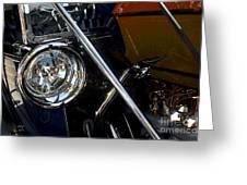 Brass Era Headlamp Greeting Card