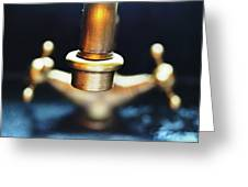 Brass Water Greeting Card