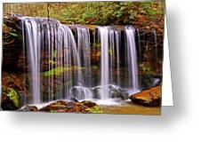 Brasstown Falls 005 Greeting Card