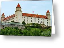 Bratislava Castle One Greeting Card
