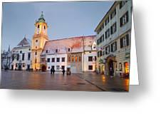 bratislava 'III Greeting Card