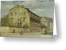 Braune Weimar Greeting Card by Christoph Martin Weiland