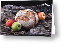 Bread Landscape Greeting Card