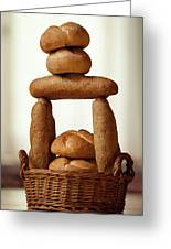 Bread Tower Greeting Card